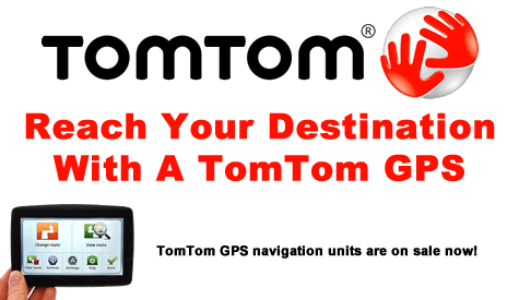TomTom GPS Portable Navigation On Sale Now!