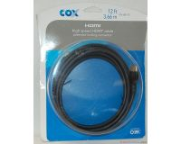 Picture of Cox High Speed 12' HDMI Cable w/ Locking Connector CX-HD-12