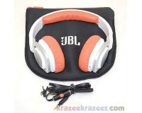 a7a94044741 Picture of JBL J55 High-Performance OnEar Headphones White/Orange Rotatable  Cup