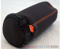 Picture of Original JBL CHARGE Zipper Sleeve Case BLACK Travel Bag 4 bluetooth speaker skin