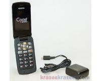 Picture of Kyocera Coast Boost Mobile Paylo Flip BLACK 2MP Cell Phone Bluetooth S2151 kona