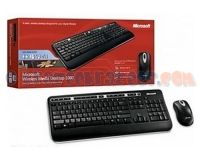 Picture of NEW Microsoft Wireless Media Desktop 1000 USB Keyboard Mouse