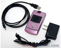 Picture of Motorola Razr V3m V3 VERIZON Cell Phone Razor PINK razer flip camera microSD -C-