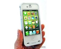 Picture of Mophie Juice Pack Air iPhone 4/4S Case & Rechargeable Battery White