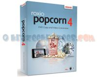 Picture of Roxio Popcorn 4 DVD Ripping Software Mac - NEW