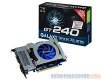 Picture of Galaxy 24GGS8HX2PUX GeForce GT240 PCIe Graphics Card 1GB DDR3