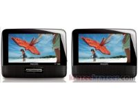 "Picture of Philips PD7012/37 Dual 7"" Widescreen Portable LCD DVD Player"