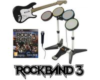Picture of Rock Band 3 Super Bundle Band Set Game Kit Playstation 3 PS3