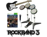Picture of Rock Band 3 Super Bundle Band Set Game Kit Xbox 360