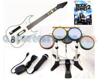 Picture of Rock Band 2 Game Bundle Set w/ Instruments for Nintendo Wii