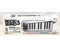 Picture of Rock Band 3 Wireless Keyboard & Game Nintendo Wii Clavier Sans Fil