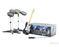 Picture of Rock Band Special Edition Band Kit Bundle Set Nintendo Wii