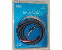 Picture of Cox 12' Stereo Audio Cables High Quality Braided Stereo-CX-12