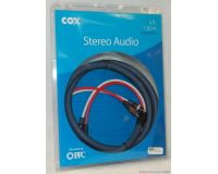 Picture of Cox 6' Stereo Audio Cables High Quality Braided Stereo-CX-6