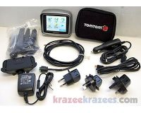TomTom Rider 2nd Edition Motorcycle GPS Receiver w/ USA & Europe Maps