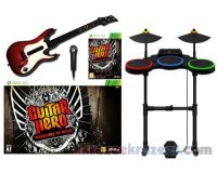 Picture of Guitar Hero Warriors of Rock Xbox 360 Bundle w/ World Tour Drums