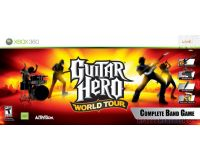Picture of Guitar Hero World Tour Xbox 360 Complete Band Game Set Bundle