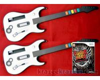 Picture of Guitar Hero Warriors of Rock Wii Bundle w/ 2 Aftermarket Guitars