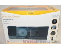 Picture of iLive iH319B Home Music System Dock iPod iTouch/Nano CD Player FM Radio Clock -A