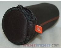 Picture of Original JBL FLIP Zipper Sleeve Case BLACK Travel Bag for bluetooth speaker skin