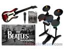 Picture of The Beatles Rock Band Wii Game Bundle w/ WOR Drums & Guitar