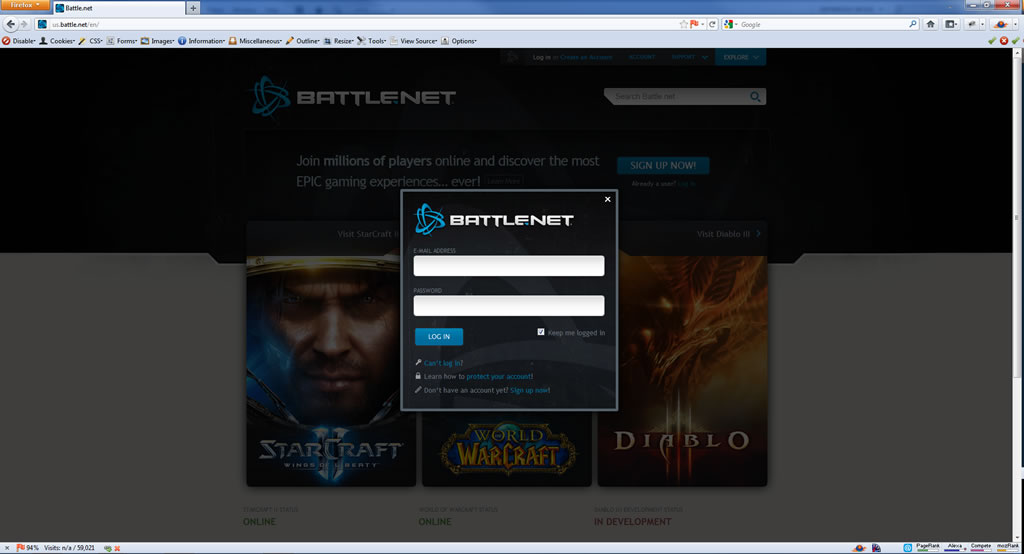 Add Blizzard Game Authentication CD Key to Your Battle.net Account